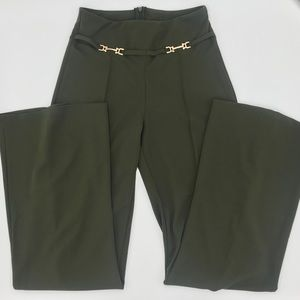 FASHION NOVA | Green high waisted dress pant
